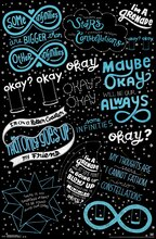 Trends International The Fault in Our Stars Poster, Love Note