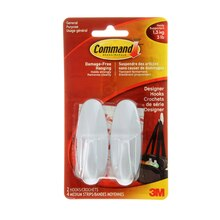 3M Command Designer Hooks, Medium