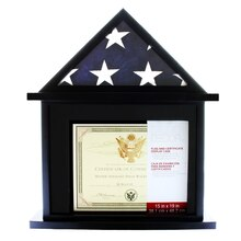 Studio Decor Flag & Certificate Display Case
