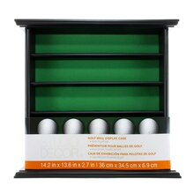 Studio Décor Golf Ball Display Case