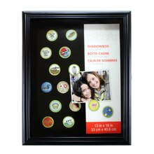 Studio Décor Patch & Pin Shadowbox, Black