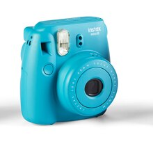 Fujifilm Instax Mini 8 Camera, Tile Blue