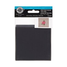 Loops & Threads Aida Cloth Canvas, Black