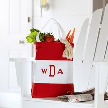 Main Street: Monogram Travel Tote