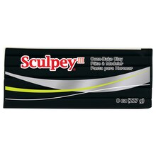 Sculpey III Oven-Bake Clay, 8 oz. Black