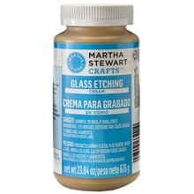 Martha Stewart Crafts Glass Etching Cream