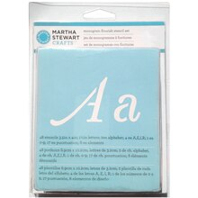 Martha Stewart Crafts Alphabet Stencil Set, Monogram Flourish
