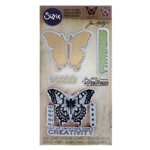 Sizzix Framelits With Stamps, Tim Holtz Limitations