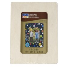 "ArtMinds Wood Frame 6 Pack, 4"" x 6"""