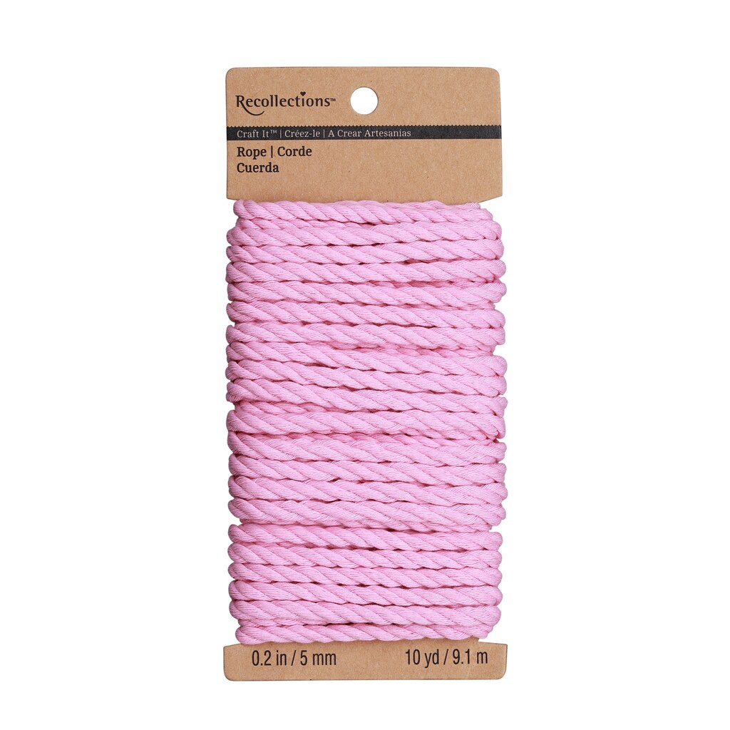 Recollections craft it polyester rope for Michaels crafts manchester ct