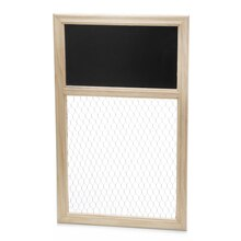 ArtMinds Chicken Wire Frame with Chalkboard