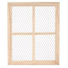 ArtMinds Chicken Wire Window Frame