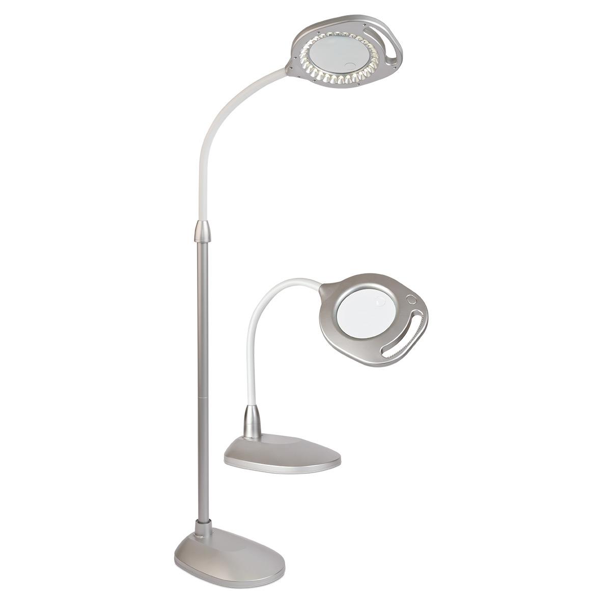 OttLite 2 In 1 LED Floor U0026 Table Light Options