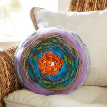 Hoop Woven Throw Pillow