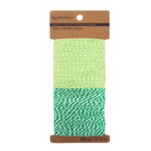 Recollections Craft It Two-Tone Twine Combo, Green