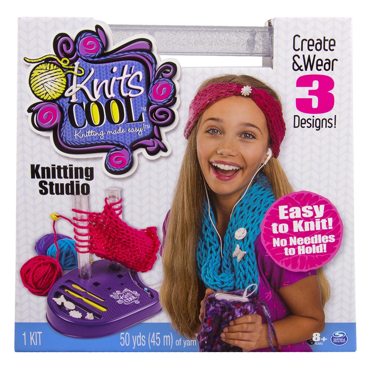 Knitting Kits Michaels : Knit s cool™ knitting studio