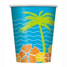 9oz Island Paradise Cups, 8ct