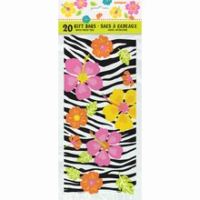 Wild Luau Cellophane Bags, 20ct