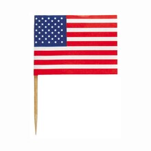 American Flag Toothpicks, 30ct