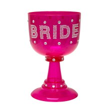Plastic Bride Goblet, 22oz