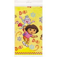 "Plastic Dora the Explorer Table Cover, 84"" x 54"""