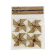 Recollections Craft It Paper Pinwheels, Kraft