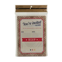 Recollections Craft It BBQ Invitations