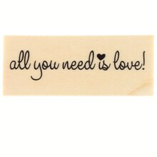 All You Need Is Love Stamp by Recollections