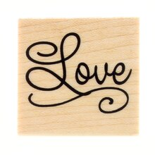 Love Wood Stamp by Recollections