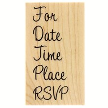 RSVP Stamp by Recollections