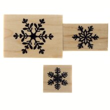Snowflake Stamp Set by Recollections
