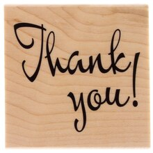 Thank You Wood Stamp by Recollections