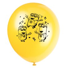 "12"" Latex Despicable Me Balloons, 8ct, medium"