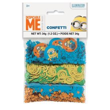 Despicable Me Confetti, Assorted 3pk, medium