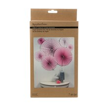 Recollections Craft It Paper Rosettes Kit, Pink