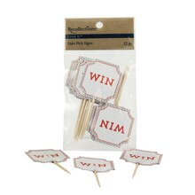 Recollections Craft It Win Cake Pick Signs