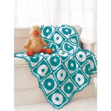 Loops & Threads® Snuggly Wuggly™ Polka Dot Crochet Blanket