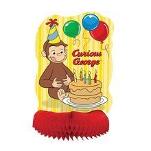 "Honeycomb Curious George Decoration, 14"", Product"