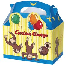 Curious George Favor Boxes, 4ct, Product