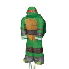 Raphael Teenage Mutant Ninja Turtles Pinata, Pull String, medium