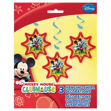 "36"" Hanging Mickey Mouse Decorations, 3ct"