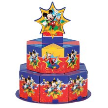 Mickey Mouse Favor Box Centerpiece Decoration for 8
