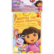 Dora the Explorer Activity Books, 4ct