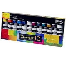 Liquitex Heavy Body Artist Acrylic Paint, Classic 12 Set