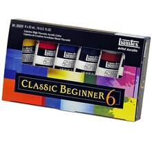 Liquitex Heavy Body Artist Acrylic Paint, Classic Beginner Set