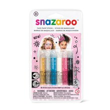 Snazaroo Face Painting Sticks, Girls