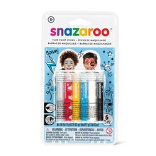 Snazaroo Face Painting Sticks, Boys