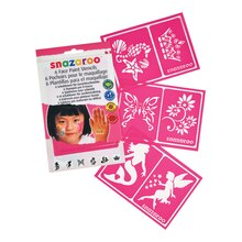 Snazaroo Face Painting Stencils for Girls