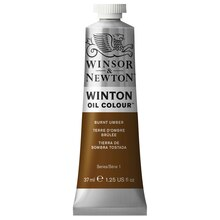 Winsor & Newton Winton Oil Color, 37ml Burnt Umber