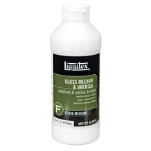Liquitex Gloss Medium & Varnish, 16oz
